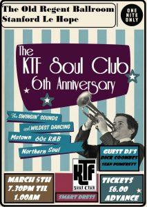 KTF Soul Club at the Old Regent Ballroom 6th Anniversary Party @ The Old Regent Ballroom | Stanford-le-Hope | United Kingdom