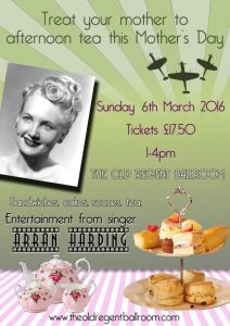 Mothers Day Afternoon Tea with Entertainment at The Old Regent Ballroom @ The Old Regent Ballroom | Stanford-le-Hope | United Kingdom