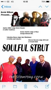 Stomping Crew - 10 piece band - Soulful Strut @ The Old Regent Ballroom | Stanford-le-Hope | United Kingdom