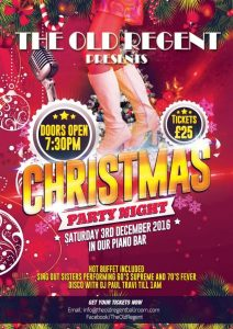 *Sold out* Saturday 3rd December Christmas Party with Sing Out Sisters 60s Supreme & 70's Fever show and DJ @ The Old Regent | Stanford-le-Hope | England | United Kingdom