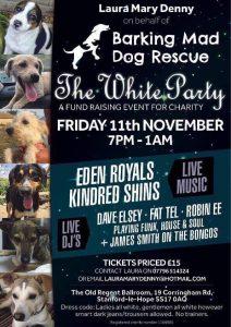 FUNDRAISING evening for Barking Mad Dog Rescue. Ft Eden Royals & Kindred Shins @ The Old Regent | Stanford-le-Hope | England | United Kingdom