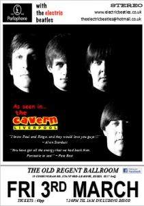 Tribute band. The Electric Beatles.  Live Music and DJ till 1am @ The Old Regent | England | United Kingdom