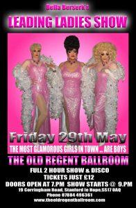 Bella Beserk's Leading Ladies Show @ The Old Regent Ballroom | Stanford-le-Hope | United Kingdom