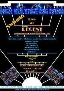 High Voltage Big Band - Live @ The Old Regent Ballroom | Stanford-le-Hope | United Kingdom