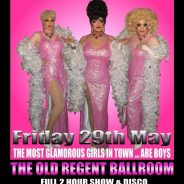 Bella Berzerk and the Leading Ladies at The Old Regent Ballroom