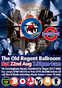 The Jam Project @ The Old Regent Ballroom | Stanford-le-Hope | United Kingdom