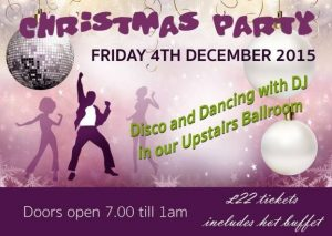 Christmas Party Night *Upstairs ballroom* Hot Buffet and DJ till 1am @ The Old Regent Ballroom | Stanford-le-Hope | United Kingdom