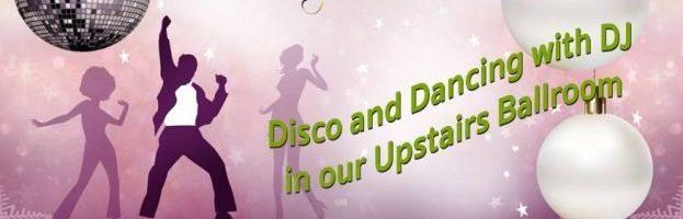 Christmas Party Night *Upstairs ballroom* Hot Buffet and DJ till 1am