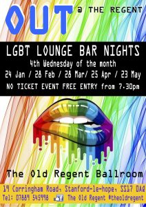 LGBT+ Lounge Bar Night OUT at The Old Regent @ The Old Regent | England | United Kingdom