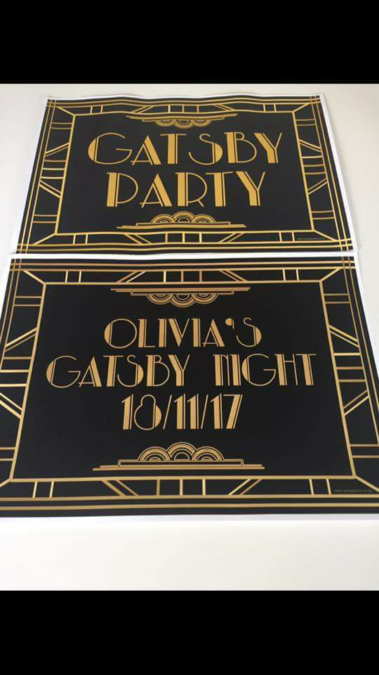 Gatsby Party / Black and White Party. Tickets £20 each @ The Old Regent | England | United Kingdom