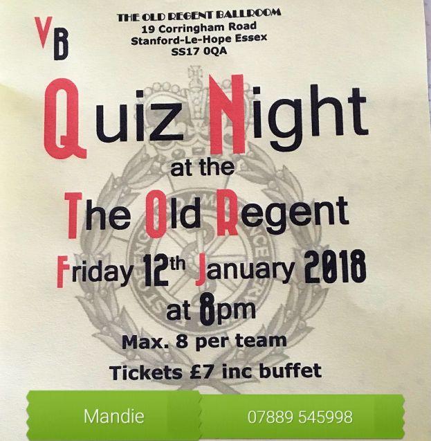 Quiz Night at The Old Regent @ The Old Regent