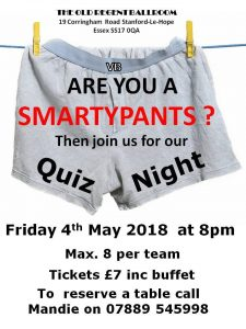 Quiz Night at The Old Regent @ The Old Regent