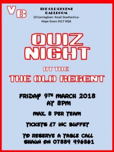 Quiz Night @ The Old Regent