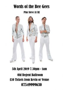 Bee Gees Night @ The Old Regent | England | United Kingdom