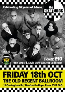 Skatonics with DJ Ska and Mash @ The Old Regent