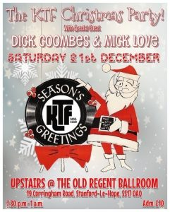KTF Northern Soul Christmas Knees Up - Event by Danny Peach @ The Old Regent